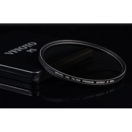 Polarizační filtr VFFOTO PS III 58mm
