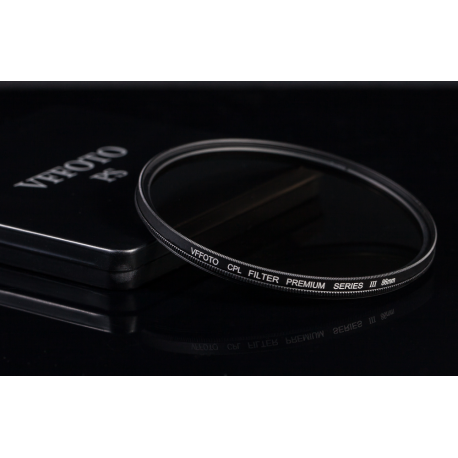 Polarizační filtr VFFOTO PS III 82mm