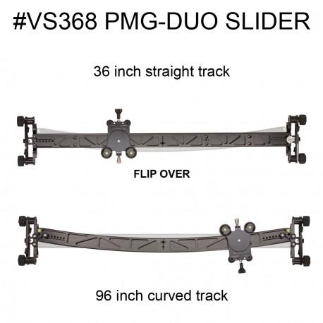 Dual Foto/Video Slider (90cm přímý / 244cm obloukový)
