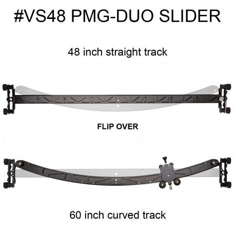 Dual Foto/Video Slider (122cm přímý / 152cm obloukový)