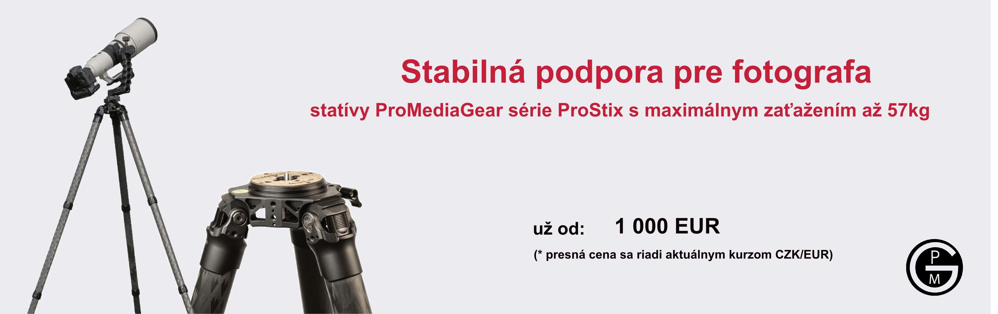 Stativy ProMediaGear ProStix
